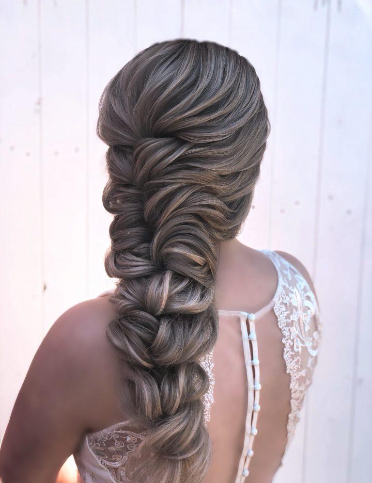 Elsa bridal braid